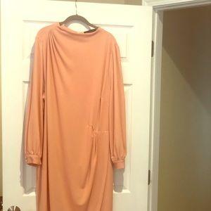 Charming peach dress